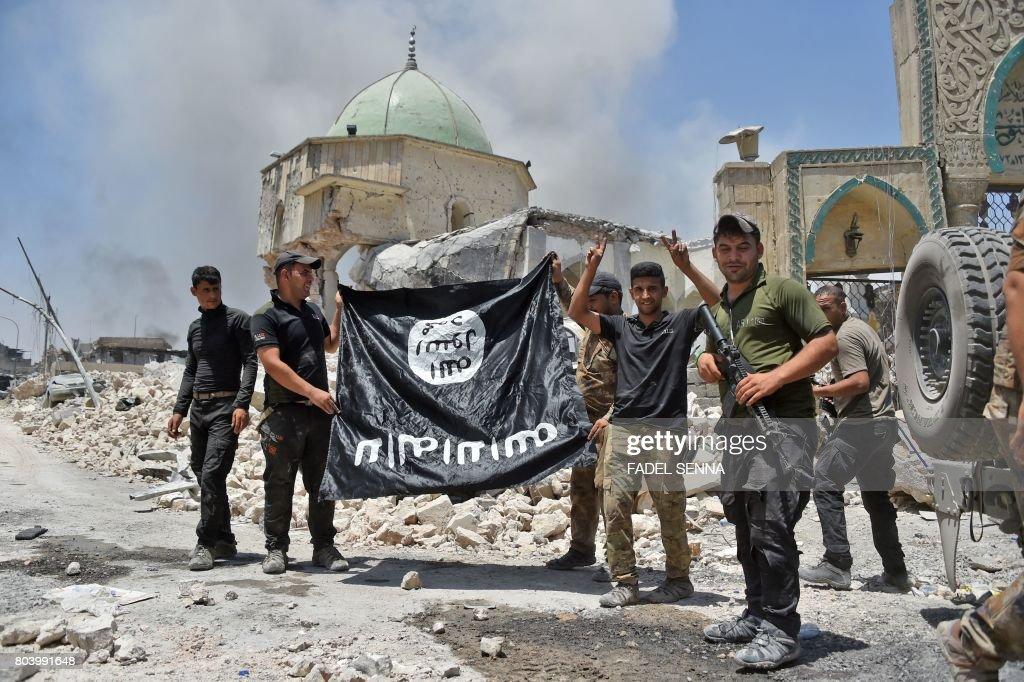 IRAQ-CONFLICT-MOSUL : Foto di attualità