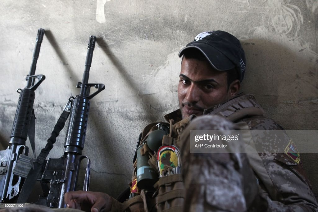 IRAQ-CONFLICT-MOSUL : News Photo