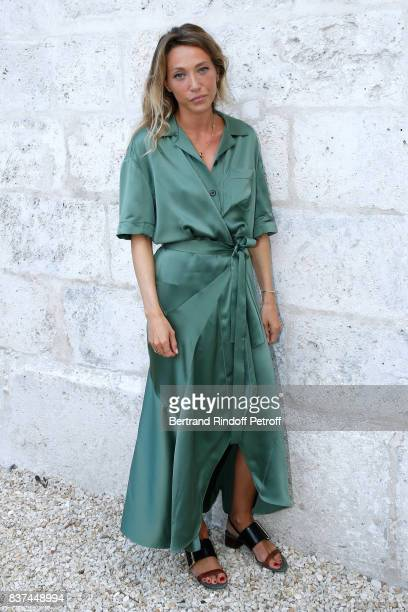 Member of the Jury actress Laura Smet attends the 10th Angouleme FrenchSpeaking Film Festival Jury Photo Call on August 22 2017 in Angouleme France