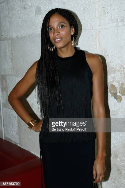 Member of the Jury, actress Stefi Celma attends the 10th Angouleme French-Speaking Film Festival : Opening Ceremony on August 22, 2017 in Angouleme,...