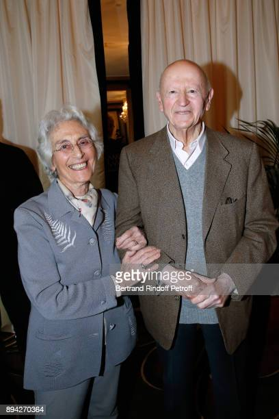 Member of the Jury Daniele Heymann and President of Jury Gilles Jacob attend the 75th 'Prix Louis Delluc' Award Ceremony at Le Fouquet's on December...