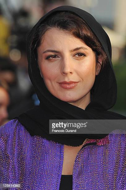 Member of the Jury Iranian actress Leila Hatami arrives at the opening ceremony of the 37th Deauville American Film Festival on September 2 2011 in...