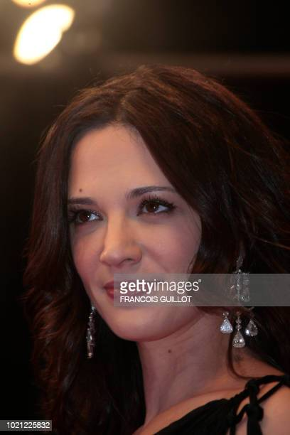 Member of the jury Italian actress and director Asia Argento arrives for the screening of Vincere directed by Marco Bellocchio in competition at the...