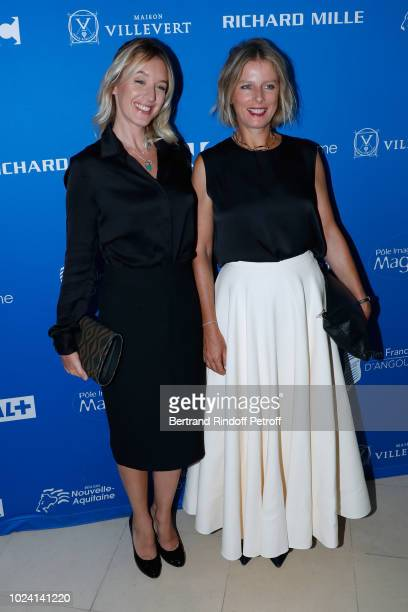Member of the Jury Ludivine Sagnier and President of the Jury, Karin Viard attend the Closing Ceremony of the 11th Angouleme French-Speaking Film...