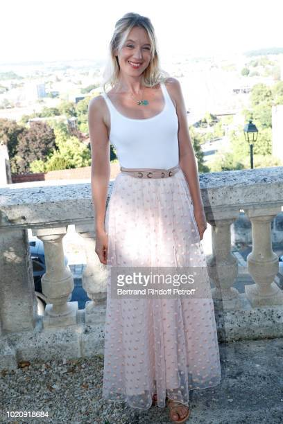 Member of the Jury Ludivine Sagnier attends the Photocall of the Jury during the 11th Angouleme FrenchSpeaking Film Festival Day One on August 21...