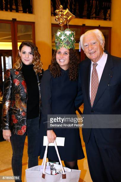 Member of the jury winner of a prize Catherinette from Louis Vuitton and President of the 'Comite Montaigne' JeanClaude Cathalan attend the 'Comite...