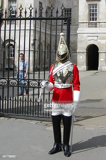 CONTENT] Member of the Life Guard regiment London UK Jun2005