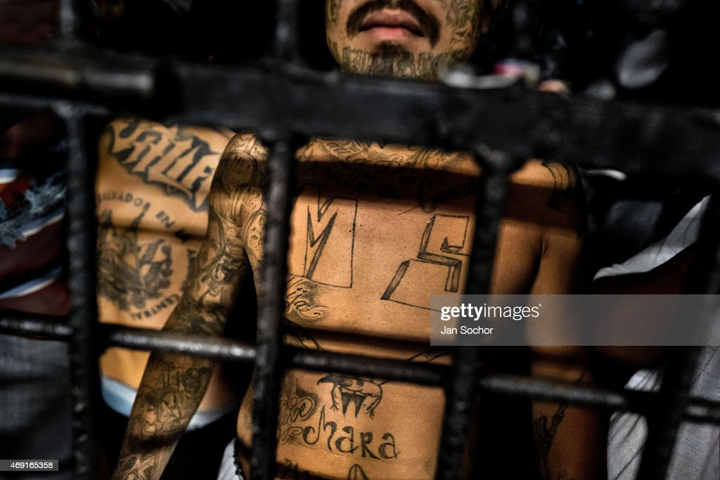 Overcrowded Prisons In El Salvador - Mara Salvatrucha Gang : News Photo