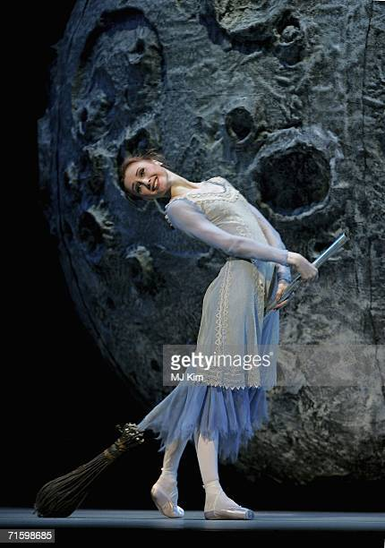 Member of the Moscow Bolshoi Theater Cinderella Ballet Svetlana Zakharova as Cinderella performs at the Royal Opera House in Covent Garden on August...