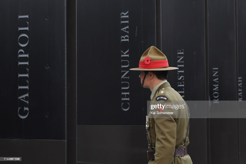 NZL: Anzac Day Commemorated In New Zealand