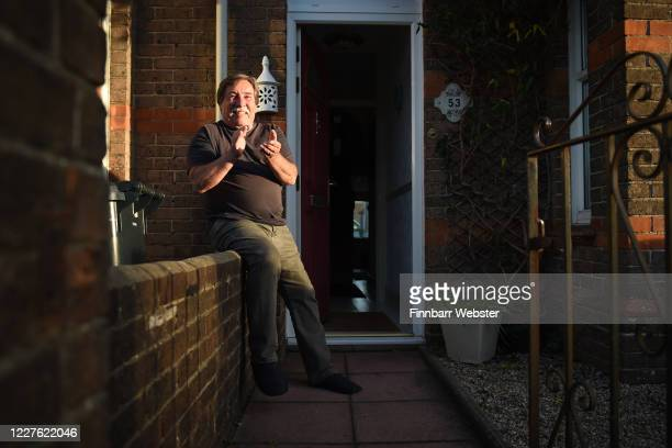 Member of the public applauds at the entrance of Dorset County Hospital on May 28, 2020 in Dorchester, United Kingdom. For 10 weeks, the public have...