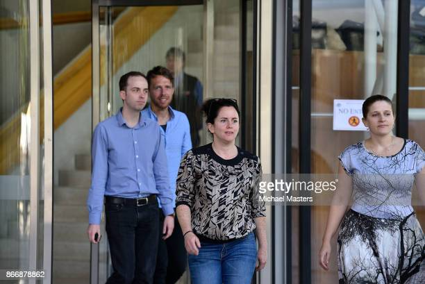 A member of the public exists the High Court on October 27 2017 in Canberra Australia The High Court of Australia has ruled that five MPs including...