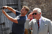 crickhowell wales member public takes selfie