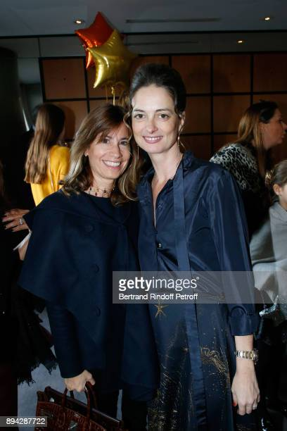Member of the 'Reve d'enfants' committee Julie Vuillieme and President of the Event Angelique Motte attend the 32th 'Reve d'Enfants' Charity Gala at...