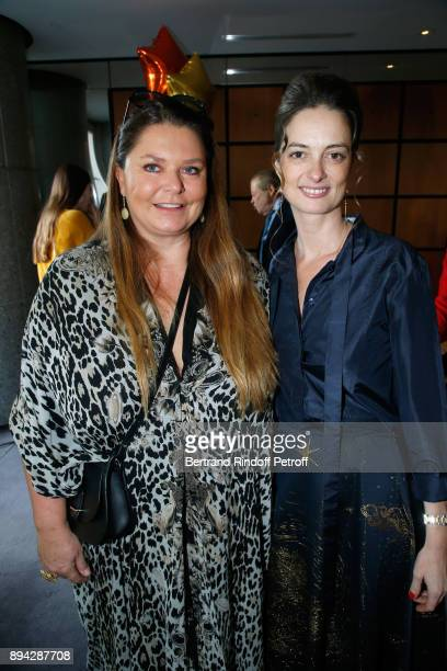 Member of the 'Reve d'enfants' committee Karin RudnickiSchlumberger and President of the Event Angelique Motte attend the 32th 'Reve d'Enfants'...