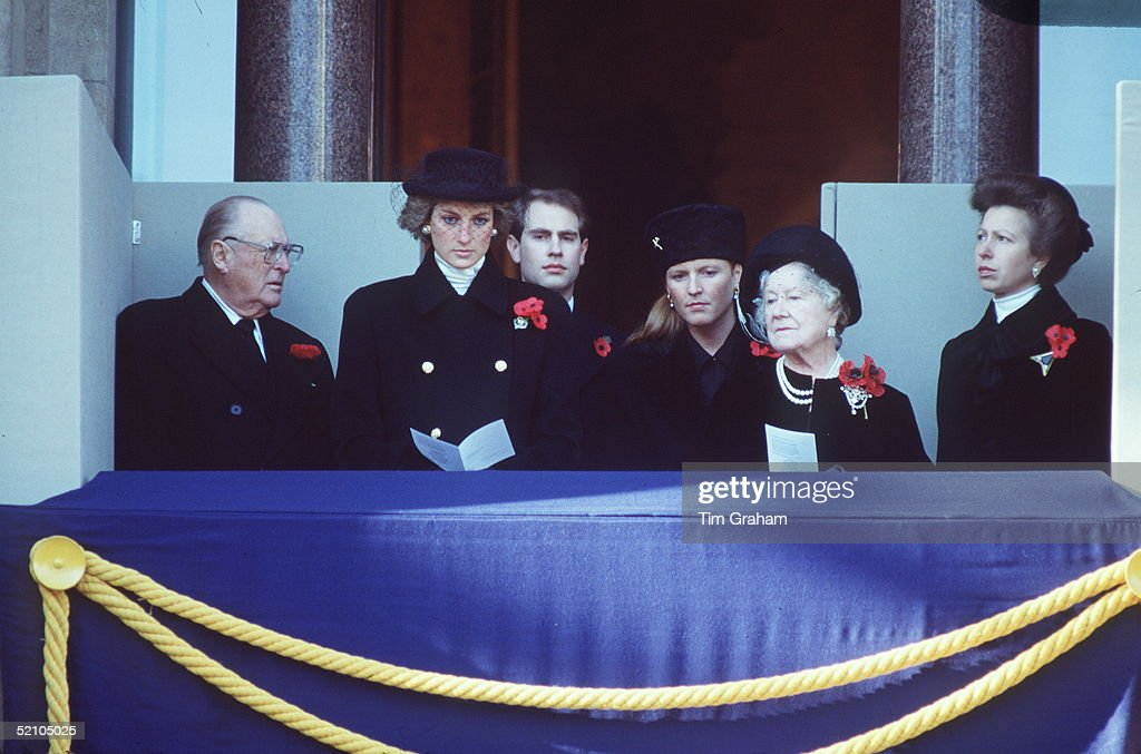 Royals At Cenotaph : News Photo