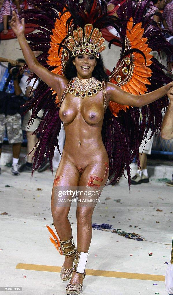 Brazilian Carnival Nudes