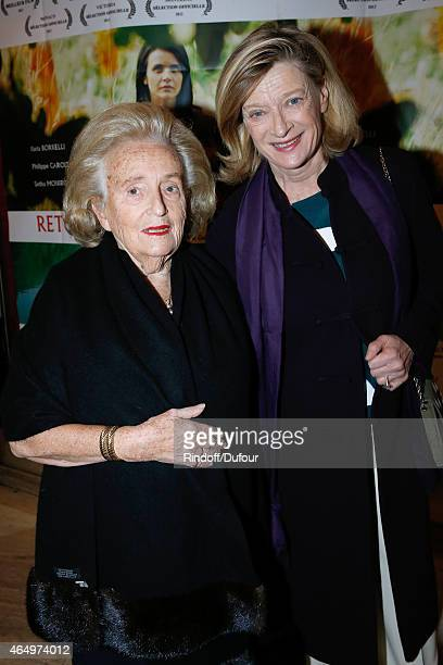 Member of the sponsorship committee of Missing Children Europe Bernadette Chirac and France Director of Missing Children Europe Isabelle Barnier...