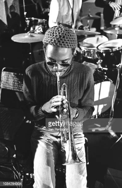Member of The Sun Ra Arkestra Kwame Hadi Berliner Jazz Tage Germany November 1970