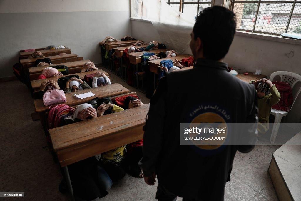 SYRIA-CONFLICT-CHILDREN : News Photo