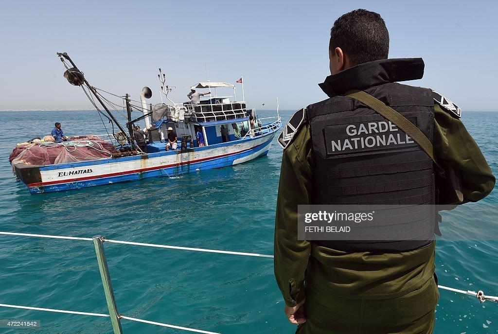 TUNISIA-MIGRANTS-FISHING : Nachrichtenfoto