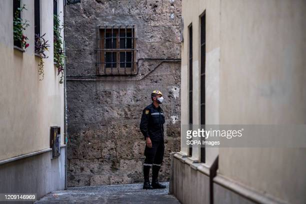 A member of the UME seen at the Albaicin neighbourhood after disinfecting a nursing home in Granada The Spanish government has proposed to increase...