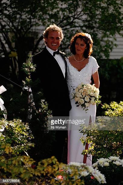 Member of the US House of Representatives from Massachusetts Joseph Patrick Kennedy II marries Anne Elizabeth Beth Kelly   Location Brighton...