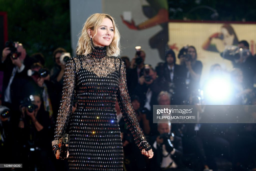 TOPSHOT-ITALY-CINEMA-VENICE-FILM-FESTIVAL-MOSTRA : News Photo