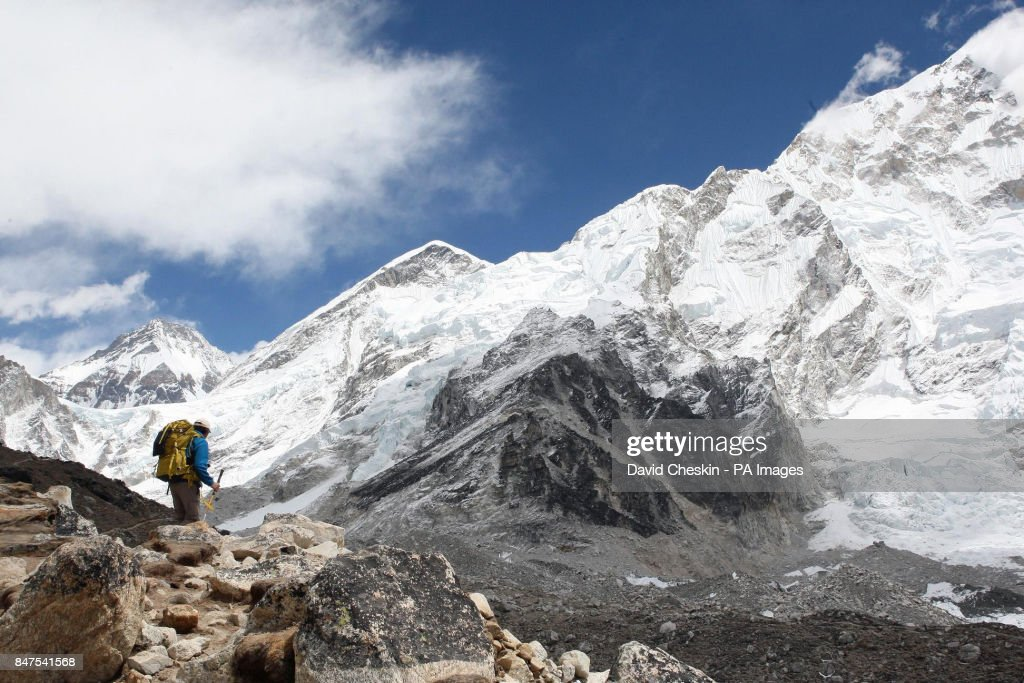 Walking With The Wounded Mount Everest expedition : Photo d'actualité