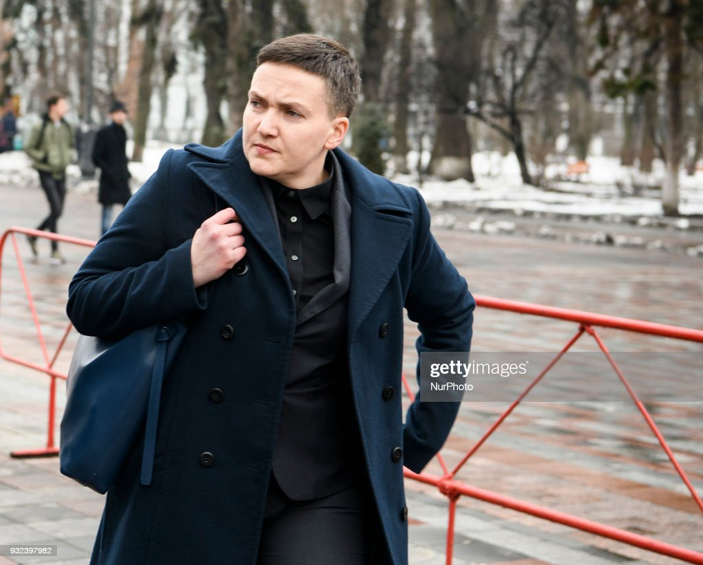 Nadia Savchenko is back to Parliament : News Photo
