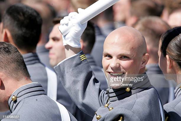 Member of U.S. Military Academy's Class of 2004 during 2004 U.S. Military Academy Graduation Ceremony at Michie Stadium in West Point, New York,...