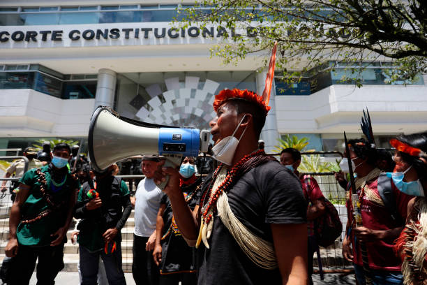 ECU: Indigenous People File A Lawsuit Against President Lasso In Quito
