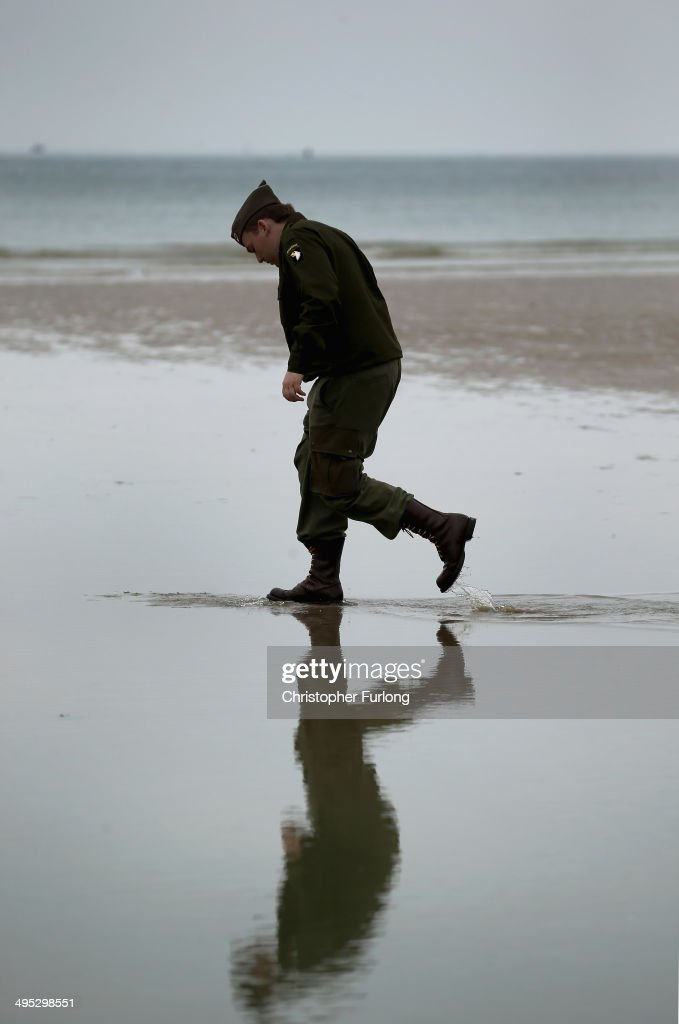 Preparation Ahead Of The 70th Anniversary Of D-Day : News Photo