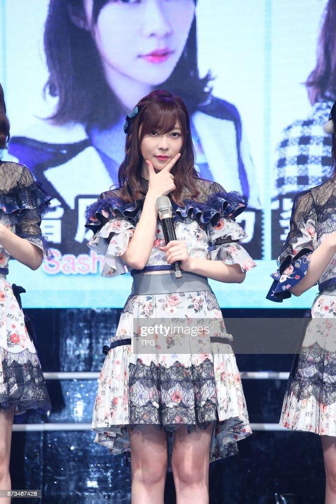 HKT48 member Rino Sashihara comes to Taiwan to hold AKB48 Group Fan