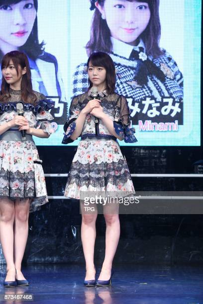 HKT48 member Rino Sashihara comes to Taiwan to hold AKB48 Group Fan Meeting in TAIWAN with AKB48 members Yuki Kashiwagi and Minami Minegishi on 11th...
