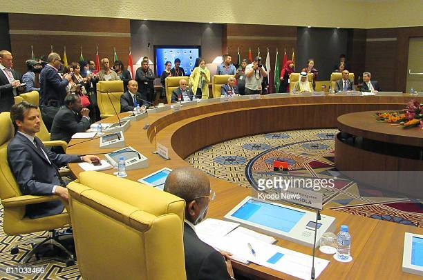 OPEC member states agree at an informal meeting in Algiers on Sept 28 2016 to cut crude oil output for the first time in eight years in response to...