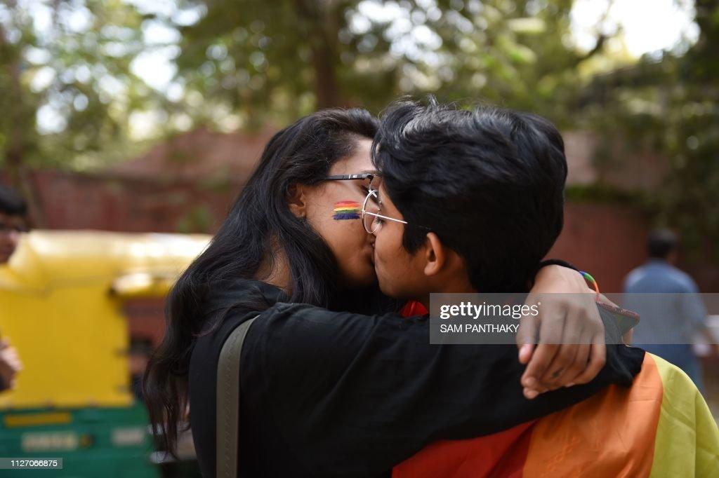INDIA-SOCIETY-QUEER-PRIDE : Nachrichtenfoto