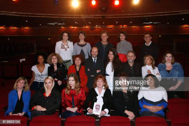Members and actors of the Festival Top Row Delphine Horvilleur Emma la Clown Charles Berlng Stephanie Bataille Alain Fromager Middle Row Rachel Khan...