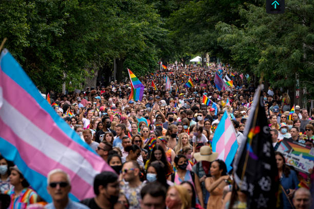 DC: Pride Walk And Rally Held In Washington DC