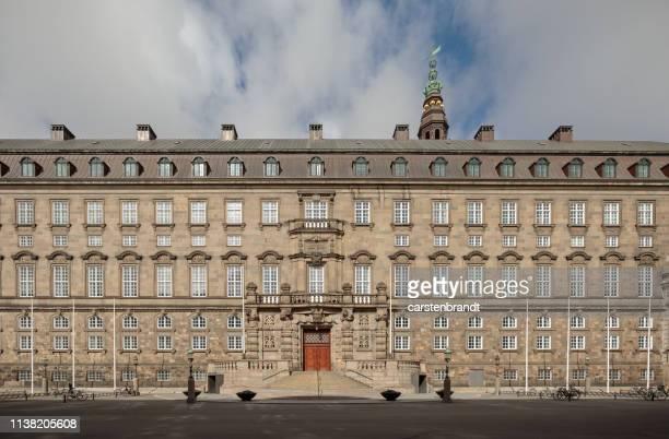デンマーク国会議員入場 - クリスチャンスボー城 ストックフォトと画像