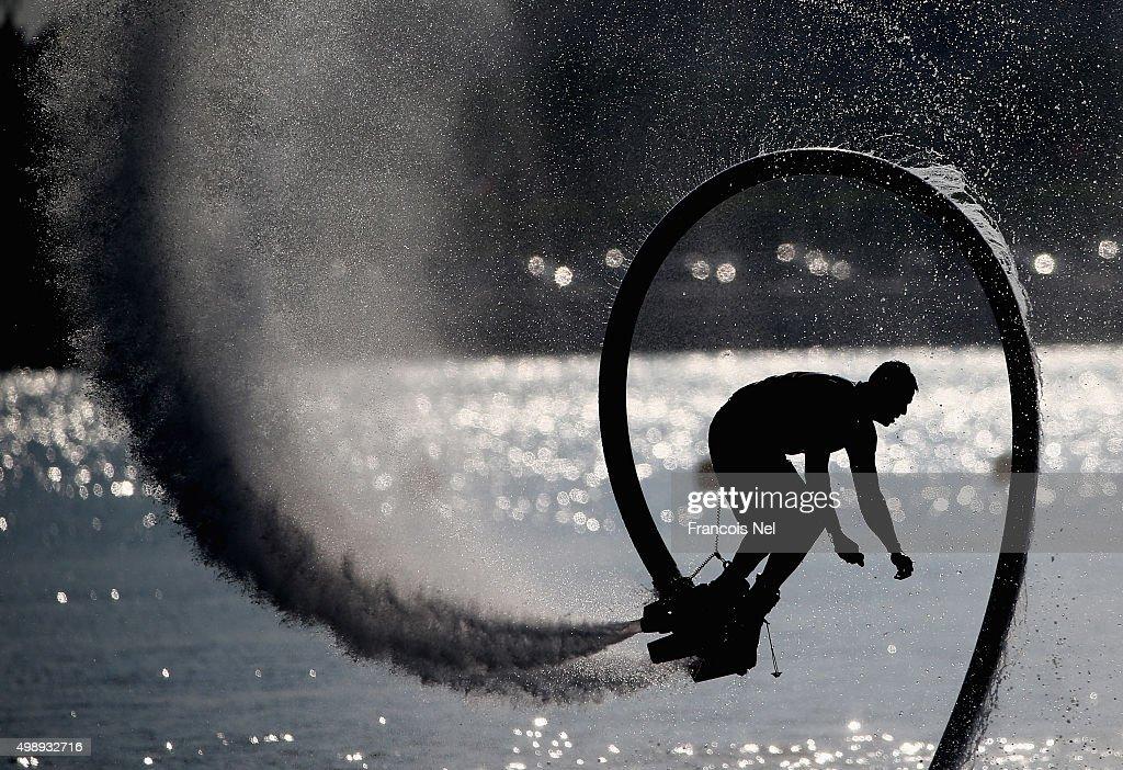 UIM XCAT World Series - Round 6, Abu Dhabi GP - Day 3 : News Photo