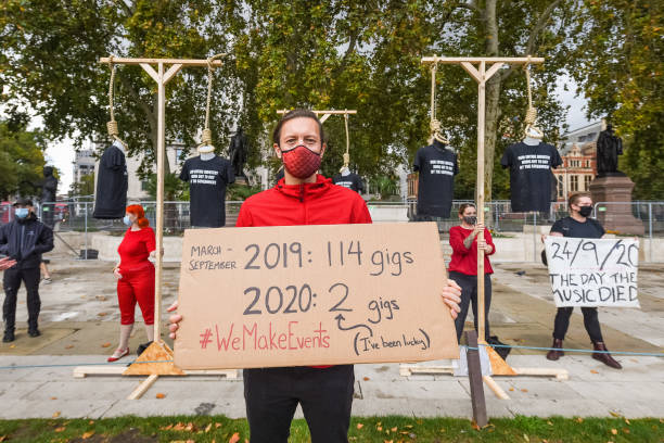 GBR: #WeMakeEvents Silent Protest
