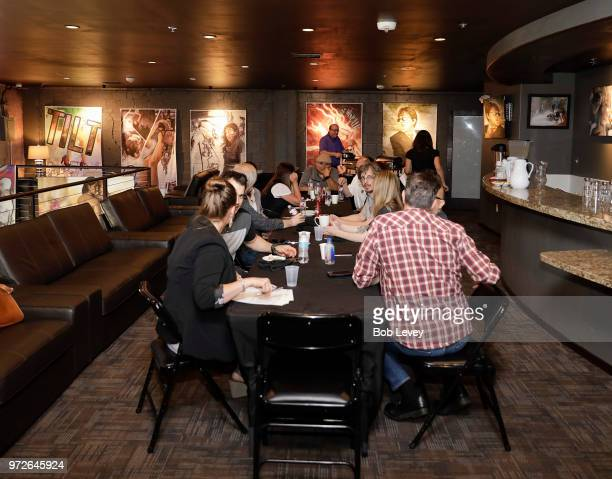 Members from the Grammy Texas Chapter during the Craft Session Demystifying Mastering on June 12 2018 in Houston Texas