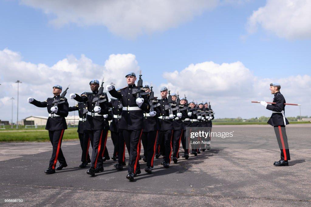 GBR: Preparations Are Made At RAF Wattisham Ahead Of The Royal Wedding