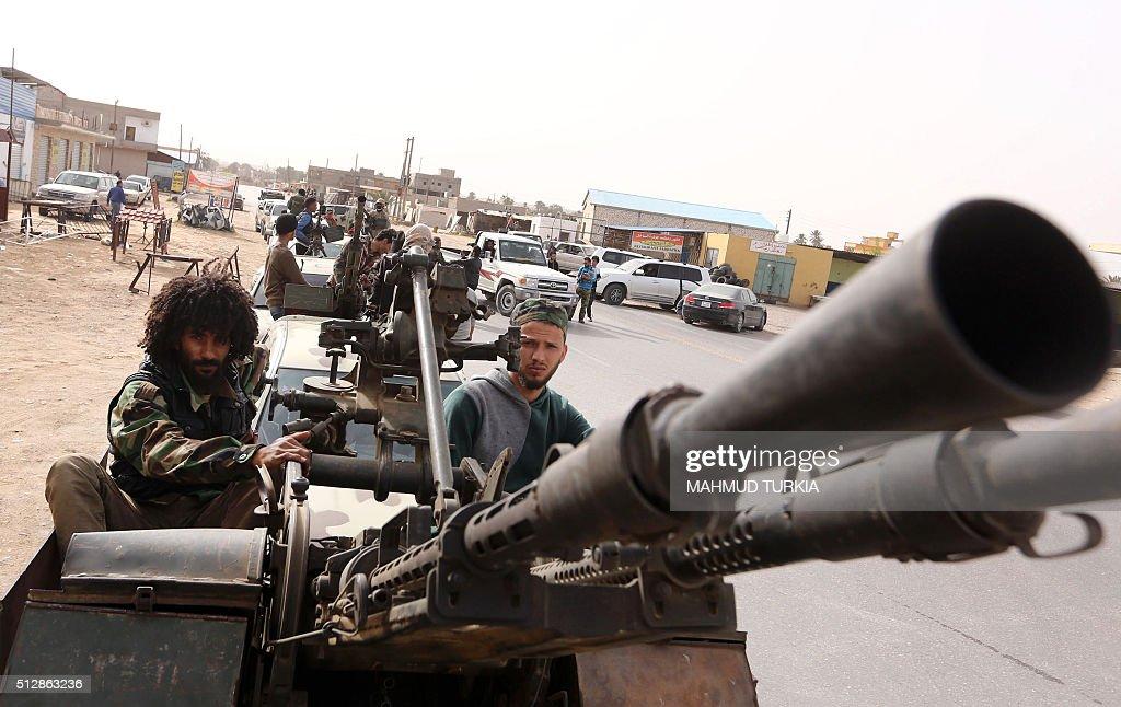 TOPSHOT-LIBYA-CONFLICT : News Photo