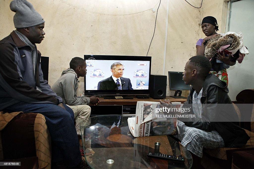KENYA-US-OBAMA-DIPLOMACY : News Photo