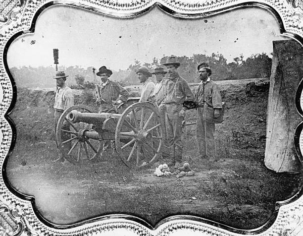 Members of a Free-State Battery formed to fight Pro-slavery...