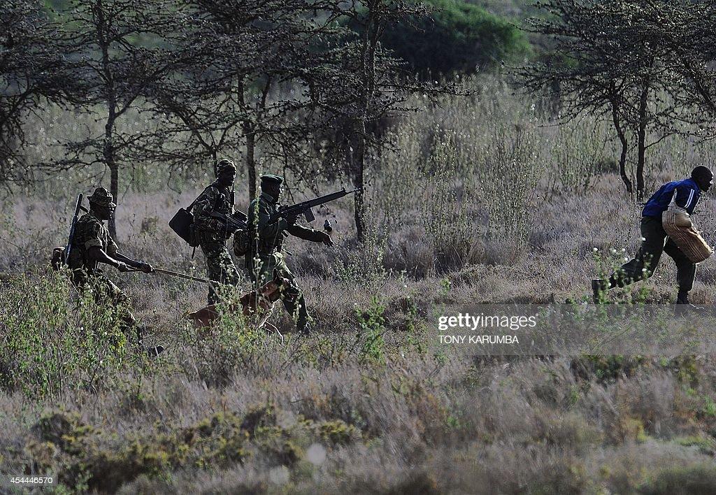 KENYA-ENVIRONMENT-CRIME-POACHING-WILDLIFE : News Photo