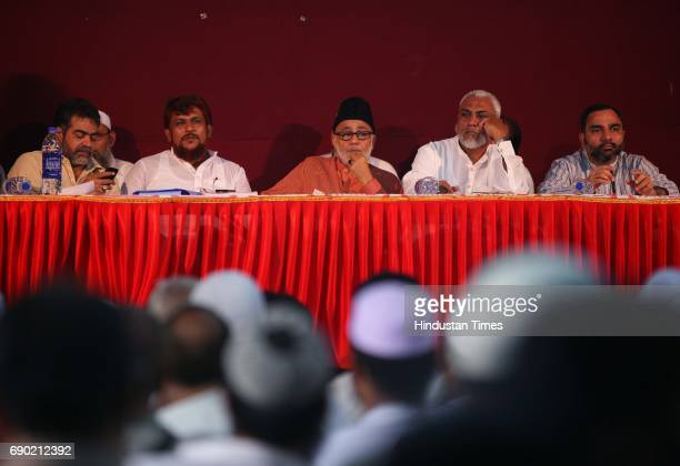 Members of All India Haj Umrah Tour Organisers' Association address the press conference at Marathi patrakar Sangh on Friday AIHUTOA takes up the...