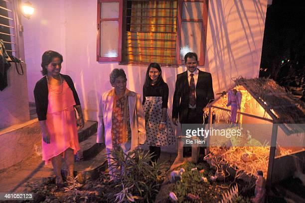 CONTENT] Members of Almaida family celebrates Christmas at their mumbai suburb home Mumbai IndiaRoman Catholics in India are minority community in...